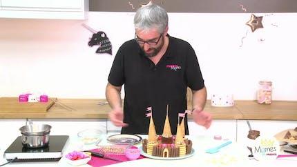 Vidéo - Replay - Mômes Part en Live - recette gâteau château de princesse
