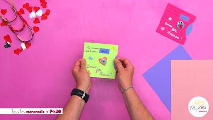 Vidéo - Replay - Mômes Part en Live - carte fête des mères à fabriquer
