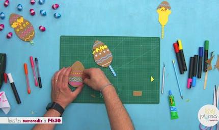 Vidéo - Replay - Mômes Part en Live - Œuf de Pâques pop-up