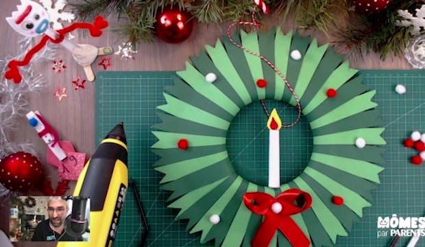 Vidéo - Replay - Mômes Part En Live - Couronne de Noël