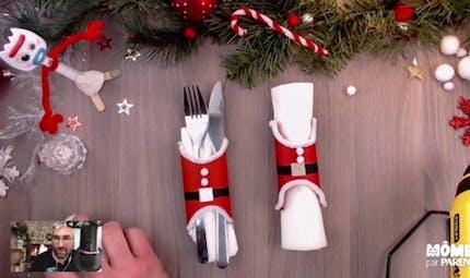 Vidéo - Replay - Mômes Part en Live - porte-couverts Père Noël