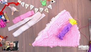 Vidéo - Replay - Mômes Part en Live - DIY piñata d'anniversaire
