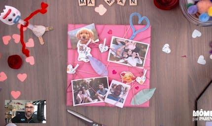 Vidéo - Replay - Mômes Part en Live - fabriquer un cadre photo