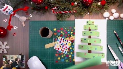 Vidéo - Replay - Mômes Part en Live - carte sapin de Noël