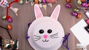 Vidéo - Replay - Mômes Part en Live - panier lapin de Pâques