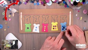 Vidéo - Replay - Mômes Part en Live - tuto Montessori pour apprendre à compter
