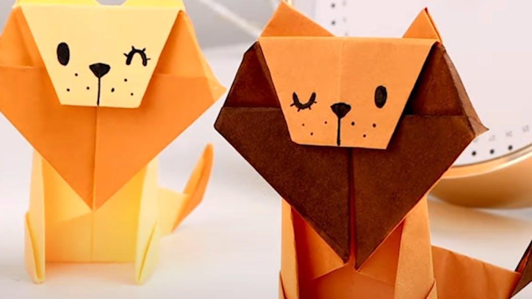 Vidéo : 10 idées d'origami super mignons à reprendre avec les enfants