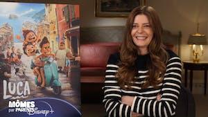 """Interview cinéma avec Chiara Mastroianni pour le dernier Pixar """"Luca"""""""