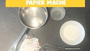 Fabriquer sa colle à papier mâché