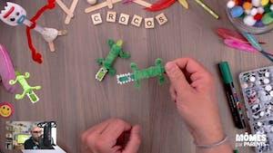 Vidéo - Replay - Mômes Part en Live - tuto crocodile facile