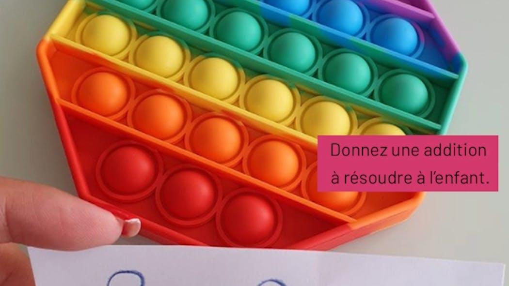 Vidéo : Pop-it, 10 idées d'activités à faire avec ce jouet.