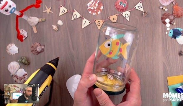 Vidéo - Replay - Mômes Part en Live - décoration petit poisson à garder