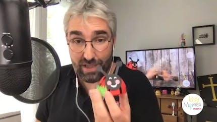 Vidéo - Replay - Mômes Part en Live - une coccinelle 3D papier