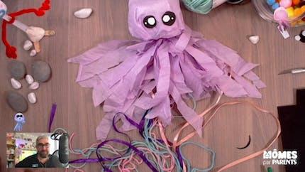 Vidéo - Replay - Mômes Part en Live - une méduse à suspendre