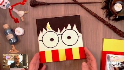 Vidéo - Replay - Mômes Part en Live - cadre Harry Potter