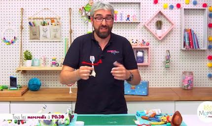 Vidéo - Replay - Mômes Part en Live - Tuto pour faire Fourchette de Toy Story 4