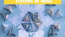 Vidéo : calendrier de l'Avent flocons de neige à faire maison